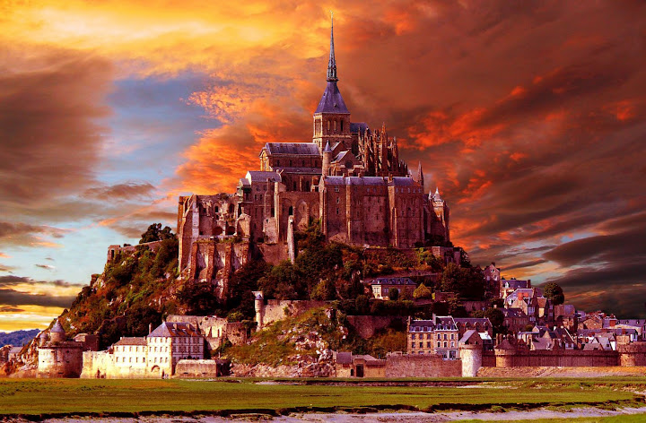 m1 Charming Mont Saint Michel