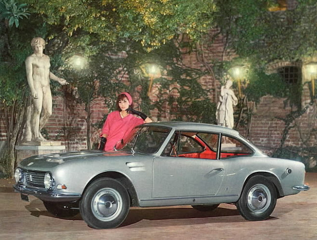 c6 Girls & Cars in European Vintage Ads