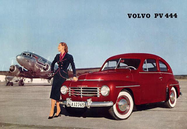 c3 Girls & Cars in European Vintage Ads