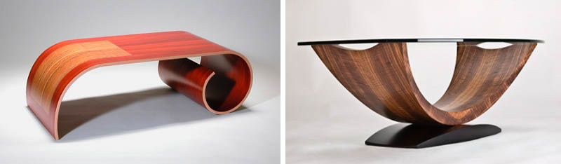 Great The Trapezoid Coffee Table By Designer Nathan Hunter Is Reminiscent Of The  Mid Century Design More Specifically The Noguchi Table Which Features A  Polished ...