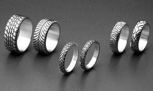 Tire Tread Wedding Band 19 Best