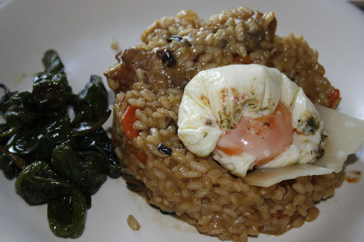 Cocinar es ocio y comer tambi n risotto de conejo setas for Como cocinar risotto de setas