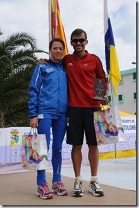 Los vencedores absolutos Irene Pelayo Y José Carlos Hernández_318x480