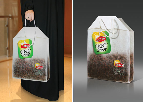 Big Lipton Tea Bag