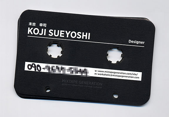 Mixtape Generation Cassette Business Card