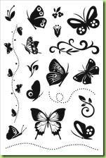 Hero Arts Designer Butterflies