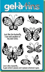 Gel-a-tins Butterfly Love