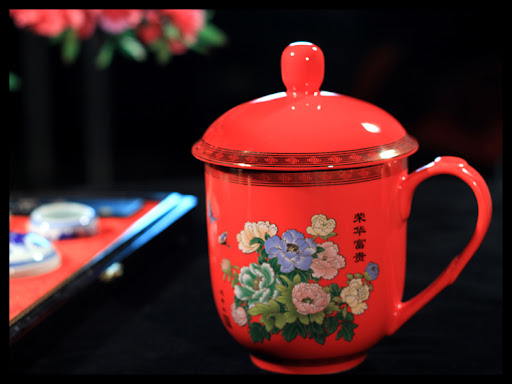 Your high-quality Peony Chinese tea set