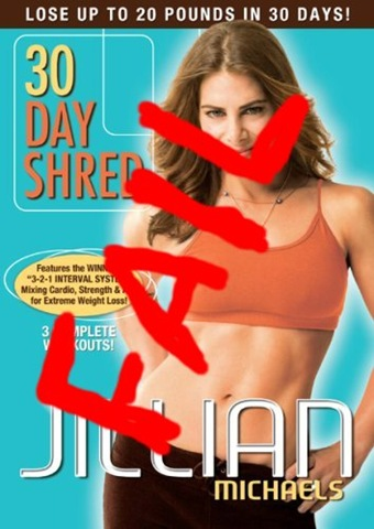 jillian michaels 30 day shred before. thirty day shred // efore