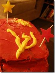 Communist Birthday Cake
