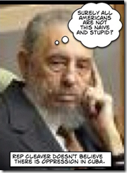 Castro Thinks Emanuel Cleaver is an Idiot