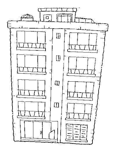 Tipos de casas laminas para pintar - Formas de pintar una casa ...