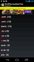 Screenshot of WordPlay Assistant Free