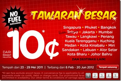 Promosi Airasia 2012