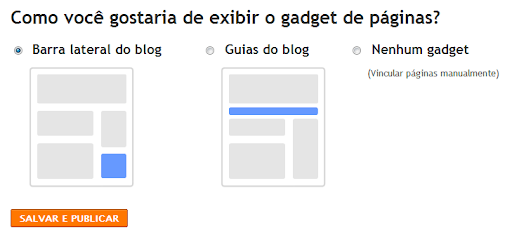 Gadget de páginas