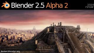 Blender 2.5 Alpha 2