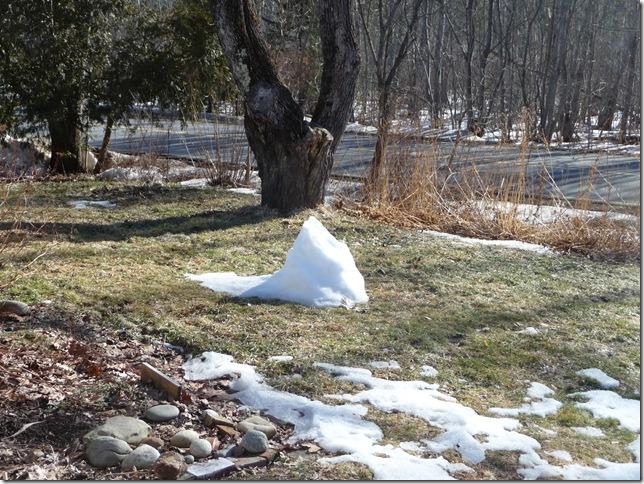 snowman remains