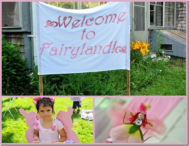 fairy welcome