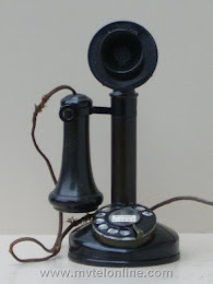 Candlestick Phones - Kellogg Dial Candlestick 1