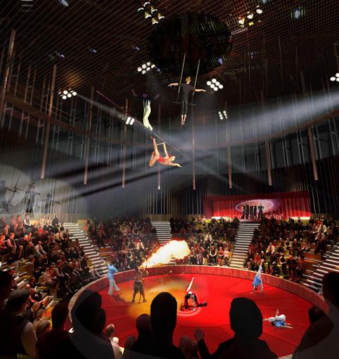 CREAA, sala de circo del centro de creacion de las artes de Alcorcon