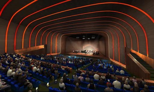CREAA , auditorio del centro de creacion de las artes de Alcorcon
