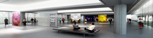 CREAA , sala de exposiciones del centro de creacion de las artes de Alcorcon