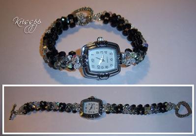 Reloj balckdiamond jet crystal ab
