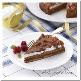 Marängtårta med Marabou Mjölkchoklad