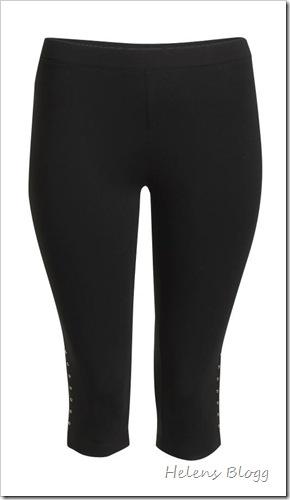 Svarta leggings, Lindex