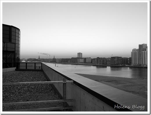 Köpenhamn, utsikt från taket på Fisketorvet
