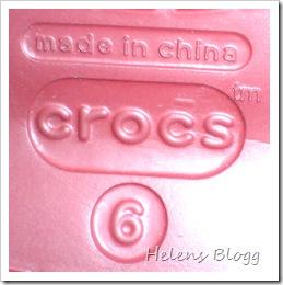 Crocs, storlek 6