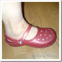 Crocs Mary Jane framifrån