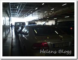 """Längst fram på bildäcket står """"vår"""" bil!"""