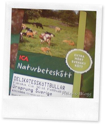 Naturbeteskött, extra mört svenskt kött