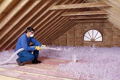 lowes attic insulation machine