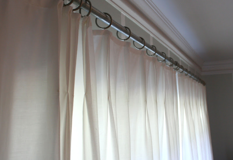 Eighteenth century agrarian business french pleat curtain for 18th century window treatments
