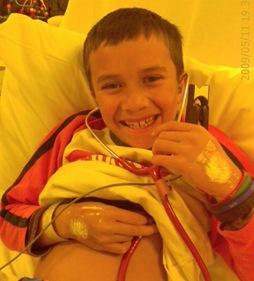 Mason in Hospital May 09
