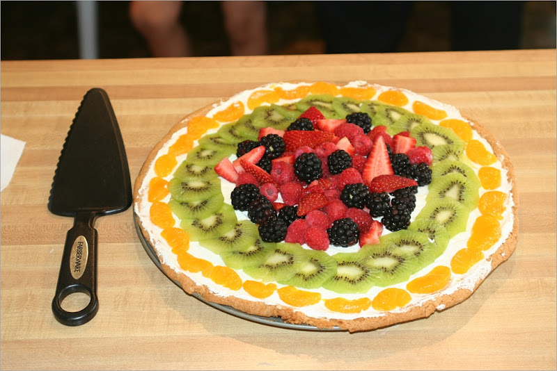 Fruit Pizza! Yummy!