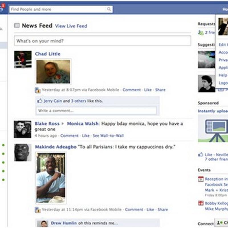 The New Facebook Design