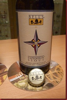 Bell's expedition stout label