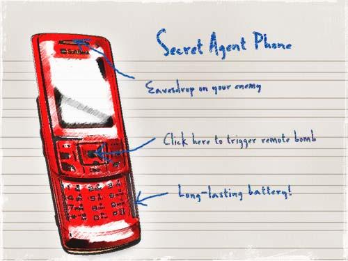 Secret Agent Phone