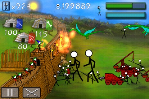 Stick Wars on iPhone
