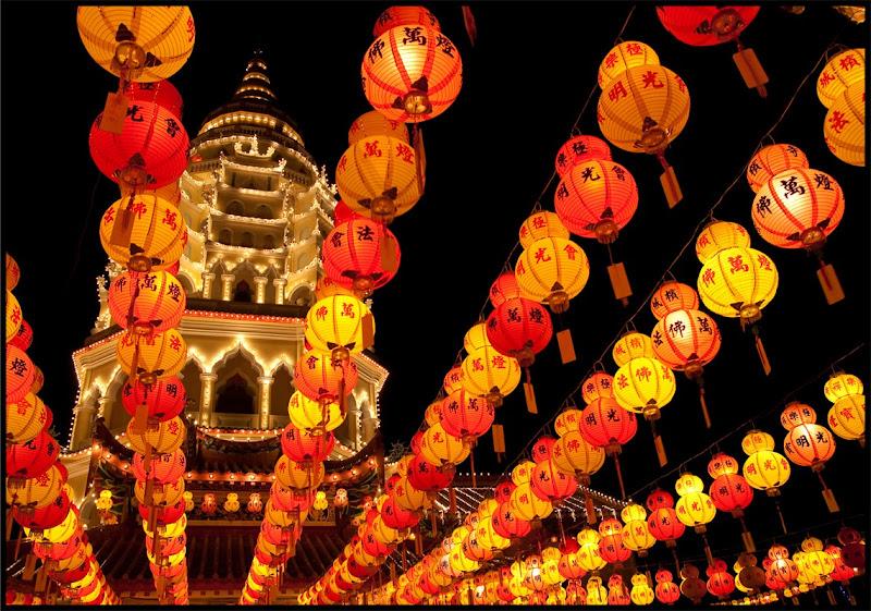 Lanterns and Pagoda