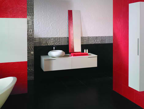 Cool Bathroom Tiles from Keros