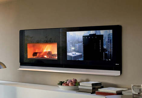 The Scenario - Cool Fireplace TV by MCZ