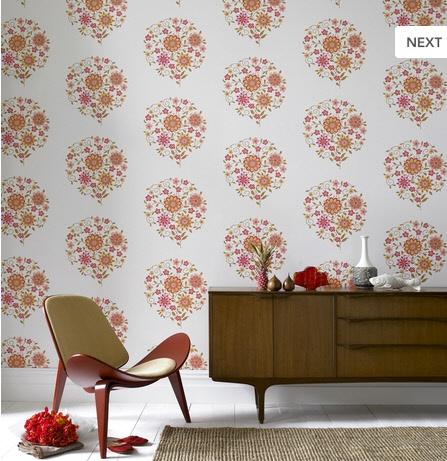 Retro Modern Wallpaper Delight