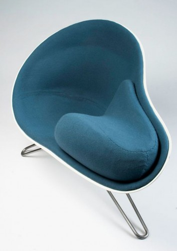 The Mussel Chair by Danish Designer Hanne Kortegaard