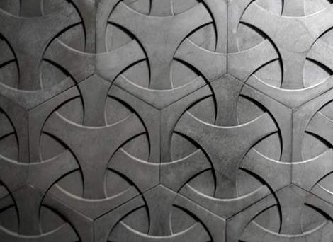 Modern Concrete Tiles by Daniel Ogassian