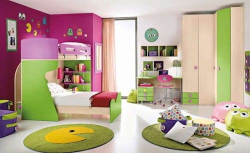 20 Very Happy and Bright Children Room Design Ideas