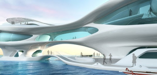 Concept Architecture: Marine Research Center in Bali